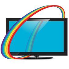 Free Television Set Royalty Free Stock Image - 17945076