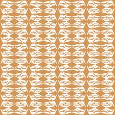 Free Seamless Floral Pattern Orange Pattern Royalty Free Stock Image - 17945296