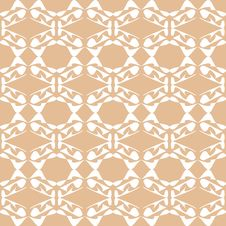 Free Flow Seamless Background One Color Pattern Ornamen Royalty Free Stock Image - 17945366