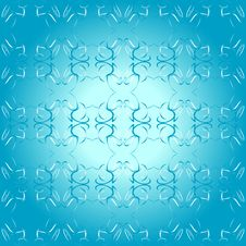 Free Seamless Ornament Blue Decorative Background Patte Stock Image - 17945601