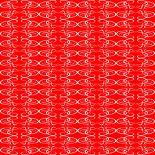 Free Seamless Ornament Red Decorative Background Patter Stock Photography - 17945682