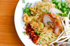 Asian Style Noodle Royalty Free Stock Images