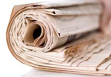 Free Newspapers Royalty Free Stock Photos - 17946258