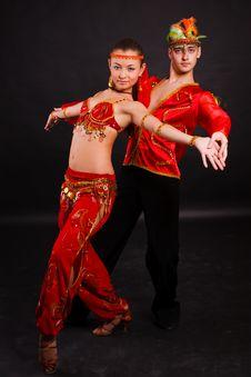 Free Beautiful Young Dancers Stock Photo - 17946770