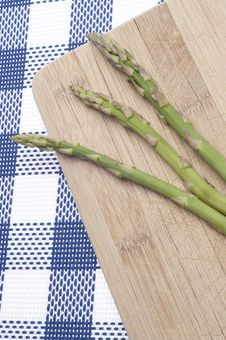 Fresh Asparagus Food Background Stock Images