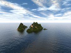 Free Seascape Royalty Free Stock Photo - 17947305