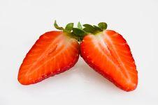 Free Strawberry Halves Royalty Free Stock Photography - 17948017