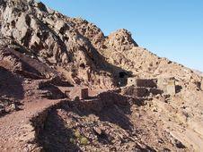 Way To Mount Mosa Royalty Free Stock Photo