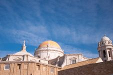 Free Cathedral Of Cadiz Royalty Free Stock Image - 17948966
