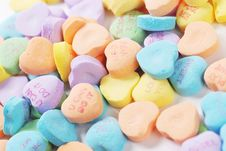Free Valentine S Day Candies And Letters Stock Photo - 17949100