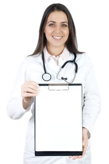 Free Friendly Doctor Stock Photography - 17949132