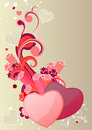 Free Two Hearts Royalty Free Stock Image - 17953746