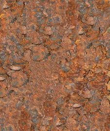 Free Highly Rusted Background Stock Image - 17951321