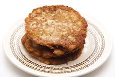 Free Potato Pancakes Crisply Baked Royalty Free Stock Photo - 17951725