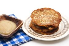 Free Potato Pancake Crisply Royalty Free Stock Photo - 17951795