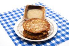 Free Pancake Crisply Baked Stock Image - 17951841