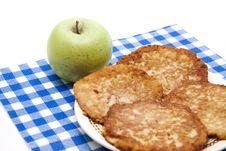 Free Potato Pancakes With Apple Stock Image - 17951881
