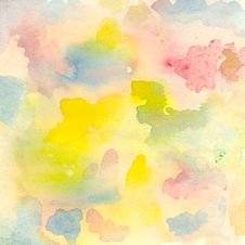 Free Abstract Watercolor Royalty Free Stock Image - 17951966