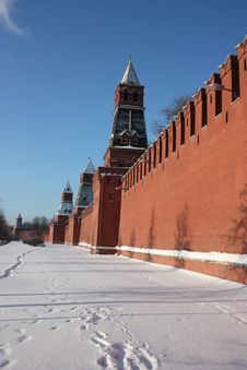 Free Towers Of The Moscow Kremlin. Stock Photography - 17951982