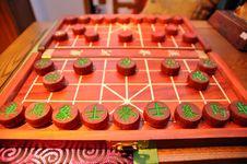 Chinese Chess Game Stock Photos