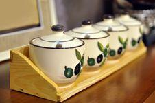 Chinese Decorative Porcelain Stock Image