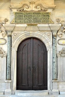 Free Door Detail, Topkapi Palace, Istanbul, Turkey Stock Photo - 17952500