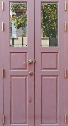 Free Closed Door Royalty Free Stock Image - 17952616