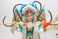 Free Peking Opera Characters Stock Photos - 17952653