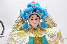 Peking Opera Characters Royalty Free Stock Image