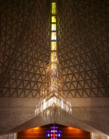 Free The Internal Structure Of The Church Stock Image - 17952881