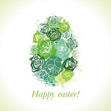 Postcard On Easter Stock Image
