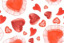 Free Red Hearts Royalty Free Stock Photo - 17952995