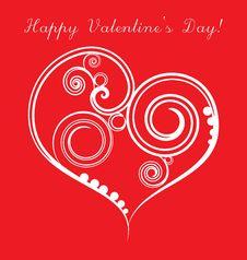 Free Valentine Background Stock Image - 17953711