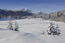 Free Winter Landscape Royalty Free Stock Photography - 17953867