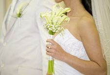 Free Bride And Fiance Awaits Royalty Free Stock Photos - 17953968