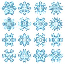 Free Snowflakes Royalty Free Stock Images - 17954109