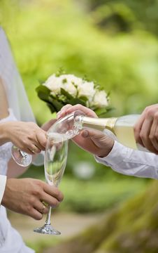 Free Champagne Stock Image - 17954201