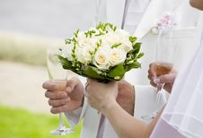 Free Hold My Bouquet, Please! Stock Image - 17954241