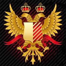 Heraldic Design Royalty Free Stock Photo