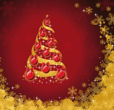 Free Christmas Background Stock Images - 17955014