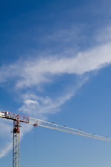 Free Crane And Clouds Stock Images - 17955364