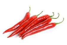 Free Red Chili Peppers Royalty Free Stock Photo - 17955635