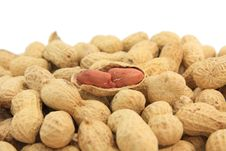 Free Peanut Shell Pile Stock Photos - 17955693