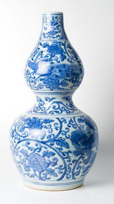 Free Porcelain Vase Royalty Free Stock Photos - 17955748