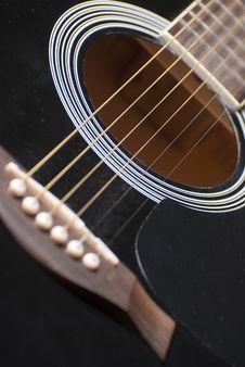 Free Guitar Hole Stock Photo - 17957010