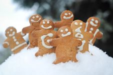 Free Gingerbread Friends Stock Photos - 17957063