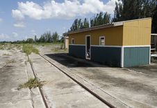 Free Photo Of An Old And Abandoned Train Depot Wood House Royalty Free Stock Photography - 17957107
