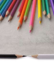 Free Color Pencil Royalty Free Stock Photography - 17957647