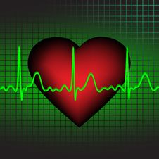 Free Heartbeat Royalty Free Stock Images - 17957819
