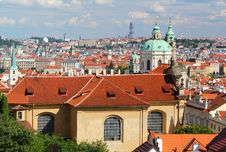 Free Prague Roofs Stock Image - 17957821